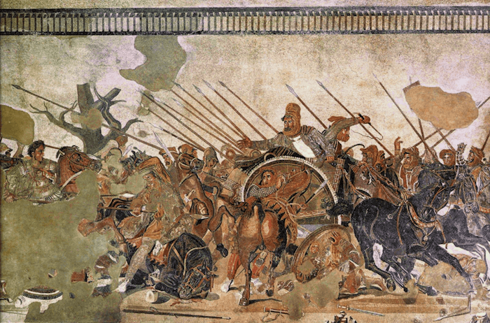 Battle of Issus Mosaic - 100 BCE