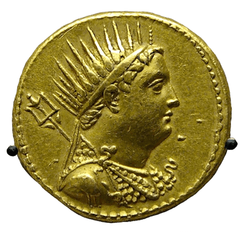 Ptolemy III Euergetes - Ptolemy III Coin
