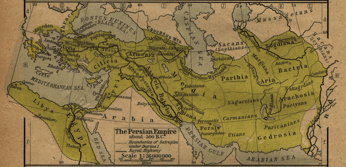 Alexander the Great - Achaemenid Persian Empire (500 BC)