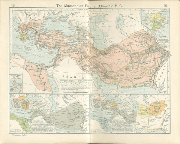 Seven Wonders of the World - Macedonian Complete Empire Map