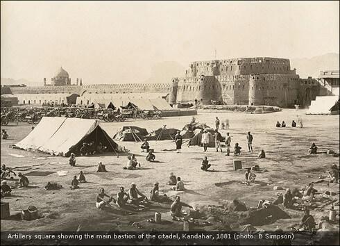 Kandahar Citadel: Sir Benjamin Simpson (1881)