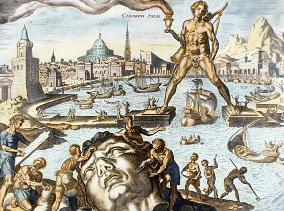 Ancient History - Colossus of Rhodes 16th Century