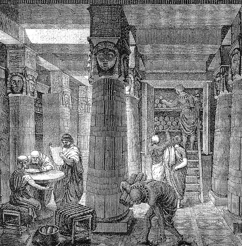 Structures - Library of Alexandria (19th Century)