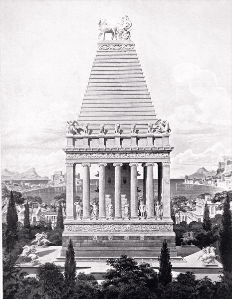 Mausoleum of Halicarnassus - Mausoleum of Halicarnassus (Charles Robert Cockerell)