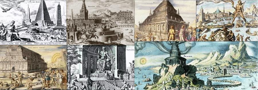 Structures - Seven Wonders of the Ancient World (Maerten van Heemskerck 1572)