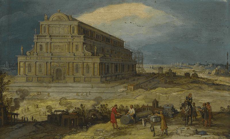 Temple of Artemis - Temple of Artemis (Hendrik van Cleve 16th Century)