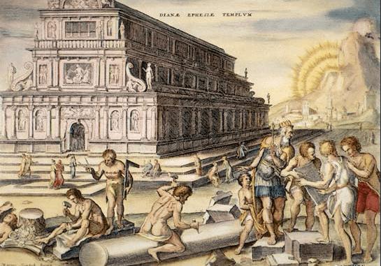 Structures - Temple of Artemis (Heemskerck (1572)