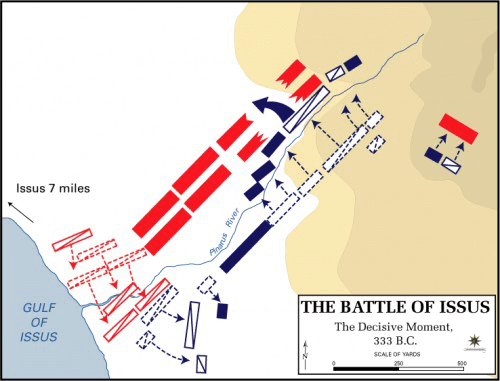Battle of Issus - Battle of Issus Decisive Moment